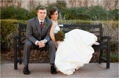 bride and groom, hypericum berry bouquet, rustic elegant winter wedding, Jeremy & Kristin Photography