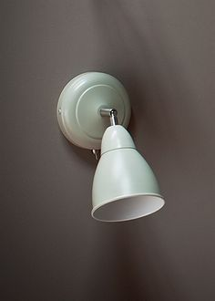 Chiswick Lamp in Clay - Wall Mounted Inside Lighting