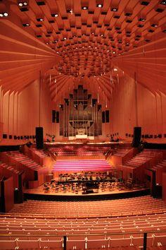 Sydney Opera House - concert hall