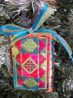 Orna Willis charted needlepoint ornament