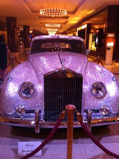 Purple Rolls Royce - 4000 Swarovski Crystals ~ wow! ....Erase-My-Record.com...Seal, Expunge and Erase background and internet data & arrest photos.  Free evals. Easy payment plans--866-ERASE-IT! (866-372-7348)