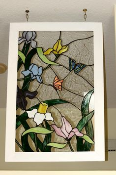 Spring Flowers - Delphi Stained Glass