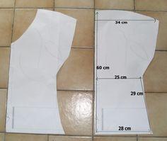tutos couture facile : tunique en 2 morceaux