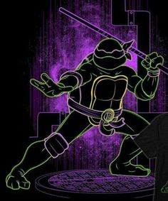 Shadow of the Bo - Canvas Print Ninja Turtles Art, Teenage Mutant Ninja Turtles, Ninga Turtles, The Bo, Day Of The Shirt, Hanging Frames, Thing 1, Tmnt, Cool Art