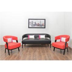 Sudan Sofa Kit 3+ 1+ 1 - @home Nilkamal, aqua