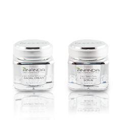 Set Anti Hiper Pigmentatie Facial Cream, Stem Cells, Whitening, Concealer, Moisturizer, Night, Moisturiser
