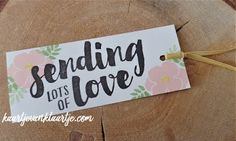 Kaartje van Klaartje: Lots of Love, Stampin' Up!,