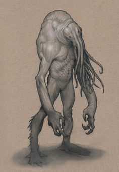 Nautilidore by Mavros-Thanatos cthulhu mind flayer demon devil octopus tentacles monster beast creature animal | Create your own roleplaying game material w/ RPG Bard: www.rpgbard.com | Writing inspiration for Dungeons and Dragons DND D&D Pathfinder PFRPG Warhammer 40k Star Wars Shadowrun Call of Cthulhu Lord of the Rings LoTR + d20 fantasy science fiction scifi horror design | Not Trusty Sword art: click artwork for source