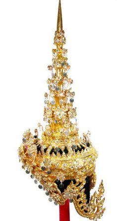 Thai Dance Headdress Ram-thai Crown Dancer Costume