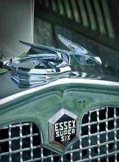 1931 Essex Hood Ornament and Emblem