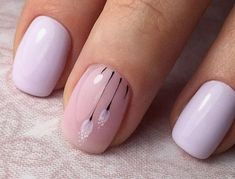 Unbelievable Nail Art Designs to Make Your Romantic Date Special Square Nail Designs, Simple Nail Art Designs, Spring Nail Art, Spring Nails, Valentine Nail Art, Gel Nagel Design, Finger, French Nail Art, Square Nails