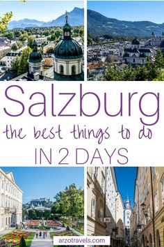 Find All The Important Travel Information For Your Trip To Salzburg, Austria. Get some answers concerning The Best Places To Visit And The Best Things To Do In Salzburg In 2 Days - A Fun And Interesting Itinera European Vacation, European Destination, European Travel, Austria Travel, Germany Travel, Best Places To Travel, Cool Places To Visit, Europe Travel Guide, Travel Destinations
