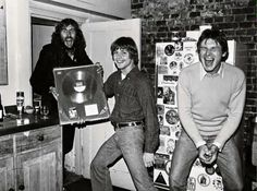 Eric Idle, Mark Hamill and Harrison Ford, 1978 - Imgur