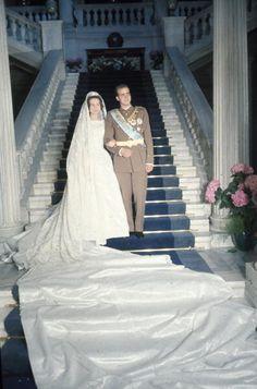 Don Juan Carlos of Spain and Princess Sophia of Greece and Denmark, May 14, 1962