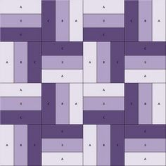 Jelly Roll Quilt Pattern - Donde estoy aprendiendo es la técnica de la baranda.