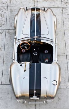 Shelby Cobra painted metallic gold.