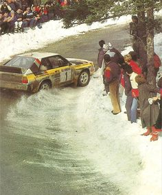"Audi Quattro Sport, one of the ""Killer Bs."""