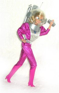 Astronaut Barbie from 1985. My favorite! (Besides Peaches N'Cream)