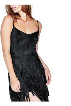Maya Fringe Dress | GUESS.com