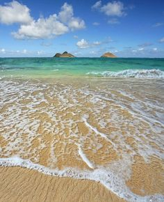 Lanikai, Oahu - this is my beach, the islands I take pictures of every morning when the sunrises.