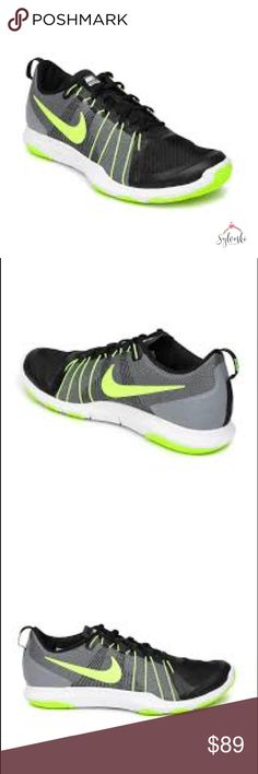 Nike Men Flex Train AVer Training Shoe LIGHTWEIGHT FLEXIBILITY. MIDFOOT LOCKDOWN. Be in your element with the flexibility of the Men's Nike Flex Train Aver Training Shoe. With its breathable, open-hole mesh upper and Flywire cables that support rigorous cuts, the shoe is built to help you train in a barely-there fit and feel that offers the support you need.Nylon Flywire cables offer stability during movement. Open-hole mesh creates an ultra-breathable feel. Triangular nodes are hot-knifed…