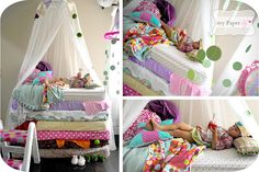 Princess And The Pea Slumber Sleepover Party | | Kara's Party IdeasKara's Party Ideas