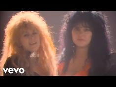 Heart - These Dreams (Official Music Video) - vTomb 80s Music, Rock Music, Music Songs, Music Mix, Heart These Dreams, Seattle, Rock Videos, Chicago, Female Singers