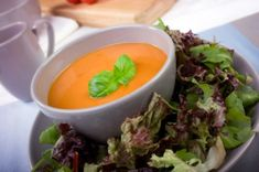 la Madeleine Tomato Basil Soupe