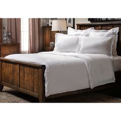 Unwind from Head to Toe with the Soft, Airy BedWorks Midtown Microfiber Duvet Set.