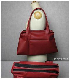 Sac compartimenté City Zip-Zip cousu par O'Kryn Prod - Patron de couture Sacôtin