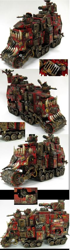 Ork double decker battlewagon/conversion