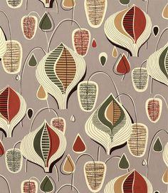 Retro Fabric Patterns | Stoffmuster der fünfziger Jahre (1)
