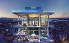 L'Atelier is the perfect definition of high-standard living. This exclusive residential masterpiece located in Miami Beach will offer the best spaces for you to find your inner peace and relax.