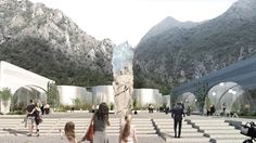 Gallery of BIG Selected to Design San Pellegrino Factory and Headquarters in Northern Italy - 1