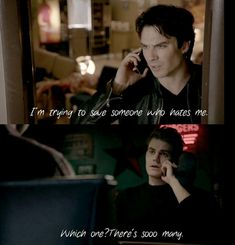 funny, the vampire diaries, and stefan salvatore image