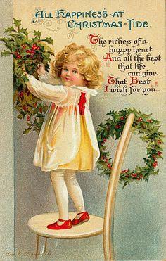 Il mondo di Mary Antony: Cartoline Natale Vintage
