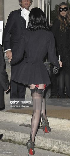 Dita Von Teese attends Vogue 90th Anniversary Party as part of Ready to Wear Spring/Summer 2011 Paris Fashion Week at Hotel Pozzo di Borgo on September 30, 2010 in Paris, France.