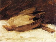 The Dead Sparrow - by Franz Marc