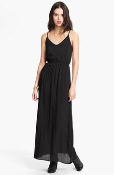 Dee Elle Camisole Maxi Dress (Juniors) available at #Nordstrom