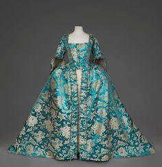Robe à la française, mid-18th century