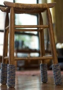 Free knitting pattern for Furniture Socks and more last minute gift knitting patterns