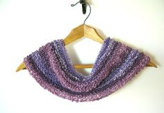 Fading to Twilight Infinity Cowl Chunky Cowl by TheSavvyStitch