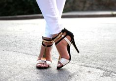great idea to show off fab  shoes