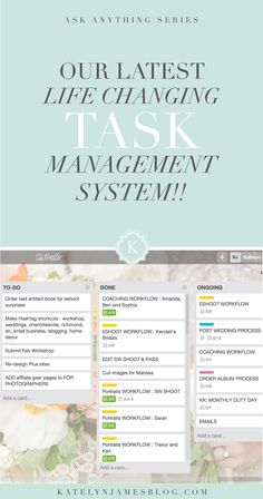 Our Most Effective Task Management System | Virginia Wedding Photographer | Katelyn James Photography