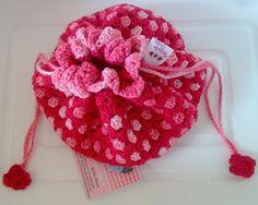 Tecendo Artes em Crochet: Saquinhos Porta-Trecos