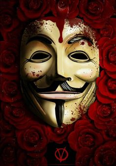 V Pour Vendetta, The Fifth Of November, Hacker Wallpaper, Cultura Pop, Great Movies, Belle Photo, Comic Art, Nerd, Geek Stuff