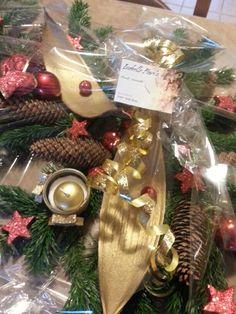 Décoration de Noël sapin centre de table