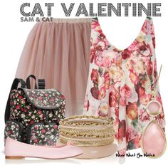 Inspired by Ariana Grande as Cat Valentine on Sam & Cat.