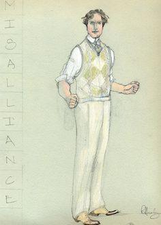 Misalliance (Jonny Tarleton). American Players Theatre. Costume design by Rachel Anne Healy.
