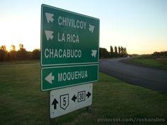 Cruce Ruta 5 y 30 Chivilcoy